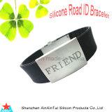 Id de silicone bracelet gravé au laser (XXT10018-9)