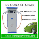 Openbare Snelle Elektrische het Laden van de Auto AC/DC EV Post