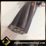 Factory Supply Prestressed Concrete PC Steel Strand avec 7 fils