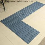 TPU und Belüftung-WARNING, das Bodenbelag-Tastfliese pflastert