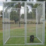 Il grande PVC quadrato esterno del tubo ha coperto il canile del cane