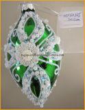 Handgemalte kundenspezifische Weihnachtsglas-Dekorationen
