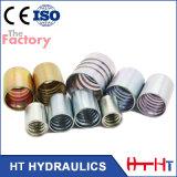 Embout modifié hydraulique de constructeur pour le boyau 2sn de SAE 100r2at/En 853 (00200)
