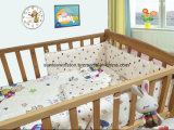 Van het Katoenen van 100% de Reeks van de Reeksen Beddegoed van de Baby 3PCS
