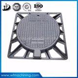 OEM/Custom Roheisen-Einsteigeloch-Deckel und Rahmen-/Einsteigeloch-Deckel