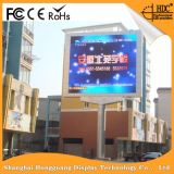 Hoher im Freien farbenreicher LED Vorstand Reklameanzeige der Auflösung P4