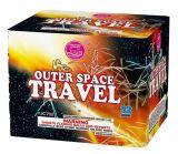 torta dei fuochi d'artificio di corsa dello spazio cosmico 32s