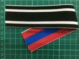 Cinta elástico tejida color doble del poliester para la ropa interior Ym-111