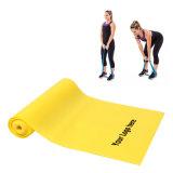 Faixa do estiramento da ioga com logotipo da impressão