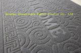 3G de fluweel In reliëf gemaakte Matten van de Deur van de Vloer met de Steun van pvc