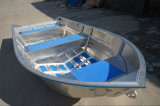 AluminiumBoat All Welded mit Square Gunwale und Rubber Coating (WV14)