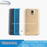 Cas de couverture arrière de batterie de boîtier d'OEM pour la galaxie S5 I9600 de Samsung