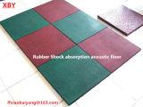 De rubber Mat van de Vloer van Matheat van de Vloer van de Absorptie van de Schok Bestand Rubber