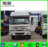 6X4 tipo testa del camion del trattore del rimorchio della Cina HOWO dell'euro 2 di 336HP