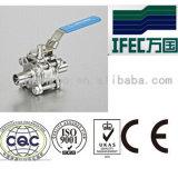 Válvulas de esfera Encapsulated do aço inoxidável (IFEC-BV100002)
