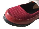 Chaussures diabétiques de Mary Jane de santal de femmes sans joint de garniture de mousse de Zote de modèle de mode