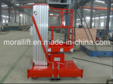 高品質10m Lifting Height Hydraulic Aluminum Lift Platform