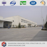 Sinoacme fabrizierte Stahlkonstruktion-Rahmen-Werkstatt/Lager/verschüttet vor