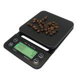 Nahrungsmittel-und Kaffee-Schuppe 0.1g mit Timer-Präzisions-Fühler-Schwarzem