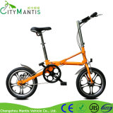 16 '' duas rodas que dobram a bicicleta portátil