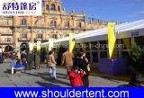 Belle tente extérieure de l'exposition 2017