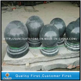 Polished темный серый Baluster камня гранита G654