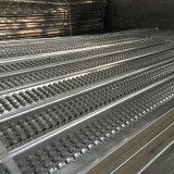 Tiras de alta malha de metal para construção