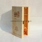 Деревянная коробка для красного вина