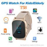 Montre personnelle adulte de traqueur de GPS avec la fonction d'appel (T58)