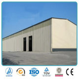 Edificio industrial de una sola planta de la planta de fábrica de la estructura de acero
