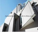 Similar material del revestimiento del edificio del panel externo de la fachada con Swisspearl