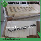 寝室(W-B-0028)のための純木デザインソファーの壁のベッド