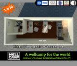 Zwei Fußboden-modulares Fertigbehälter-Haus
