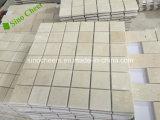 Los mosaicos de piedra de mármol blanco