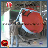 Простая структура диска гранулятор используется в производственной линии для внесения удобрений