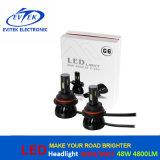 48W Uitrusting van 4800lm 9004/9007 H13 H4 de LEIDENE van Hi/Lo Koplamp voor Auto LEIDENE Hoofd Lichte Vervanging