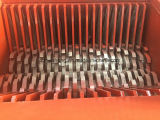 Doppeltes Shaft Shredder, Tyre Shredder für Rubber Recycling