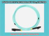10 Gig Aqua Uniboot LC à fibre optique réversible Zipcord Assemblée OM3 Câble de pontage