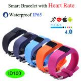 La fréquence cardiaque Smart Bracelet pour Android et Ios Téléphone (ID100)