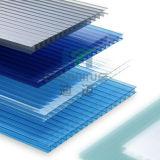 Feuille de Sun en polycarbonate, qualité supérieure, Triple mur creux Feuille de PC