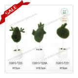 H10-19cm 베스트셀러 각종 모양 플라스틱 장식 정원 실제적인 접촉 인공 꽃