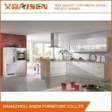 Venda Direta de fábrica pequena cozinha lacados designs de armário de cozinha