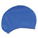 浮遊フードの浸る帽子はそれにロゴをカスタマイズしたロゴの水泳帽を置いた