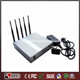 3G 4G Lte Cellular Phone Jammer 12W con Remote Control