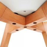 PU 방석 덮개 너도밤나무 나무 다리 플라스틱 의자