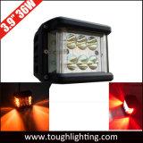 3,9 pulgadas de alta potencia 36W Shooter lateral cree Flash LED luces de trabajo