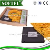 divisor óptico del PLC de fibra 1X8