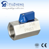 Acier inoxydable M / F discussion Mini Ball Valve