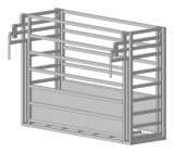 1.6m x 2.1m ovale Rohr-Vieh-Yard-Panels