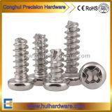 Parafusos de auto-rosca de cabeça de panela embutidos cruzados de alta qualidade Fabricante
